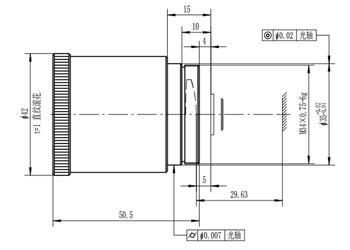 13 мм / F2.0 Оптические атермальные линзы